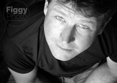 black & white portrait photography sessions - adults